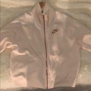 Nike air jacket (rose gold)